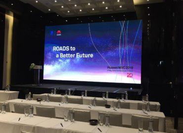 """Màn LED P2 Sự kiện """"Đường tới tương lai"""" tại JW Marriot – Kích thước 8m x 4m"""