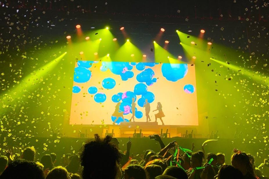 Màn LED P5 sự kiện âm nhạc 1
